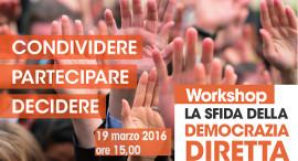 Workshop Democrazia Diretta